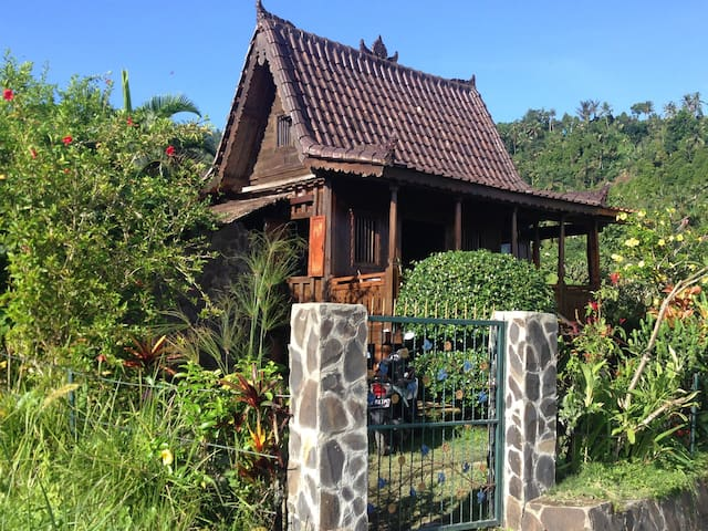 Amazing Wooden Trekking House Secret Garden!