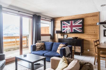 Great Ski Apartment - Morillon 1100, Les Esserts
