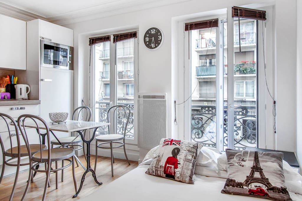 Charming apart at 2 min from Gare du Nord-Eurostar