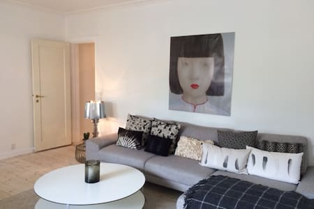 Cozy nice apartment close to beach and CPH city - Charlottenlund