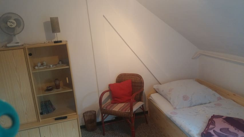 Dachwohnung Zimmer 2 - Rudolstadt - Leilighet