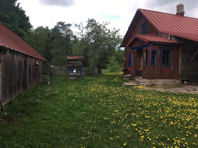 Go wild - relax in countryside near Rēzekne for 6