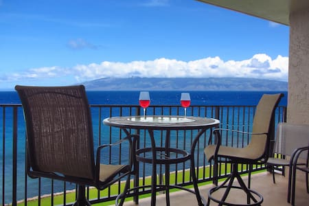 WOW!  TRUE OCEANFRONT BEAUTIFUL CONDO IN MAUI!