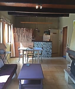 Studio 4 pers avec jardin privé - Ghisonaccia