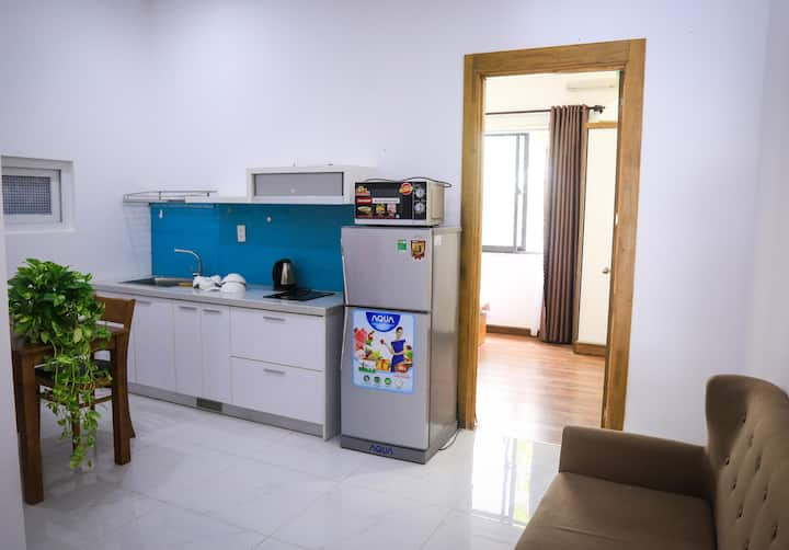 Long term stay 1 BR apartment, near beach & quiet
