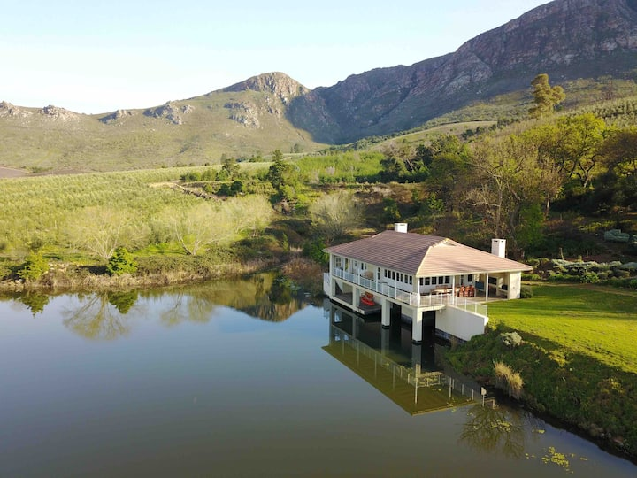 THE BOATHOUSE AT OAKHURST OLIVES, TULBAGH