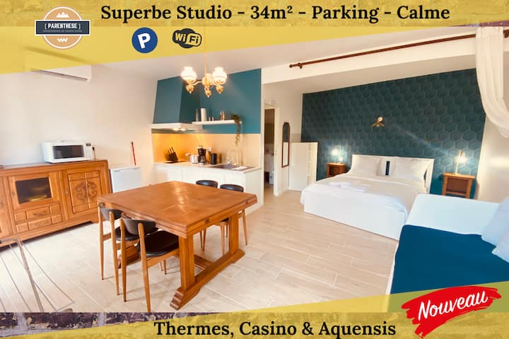 [PARENTHESE] Le Tourmalet ★ PARKING&WIFI ★ Thermes