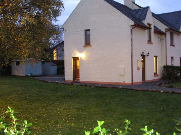 Family-friendly house with large garden.