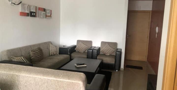 Appartement bien équipé à Mers Sultan