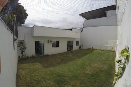 Apartment with yard