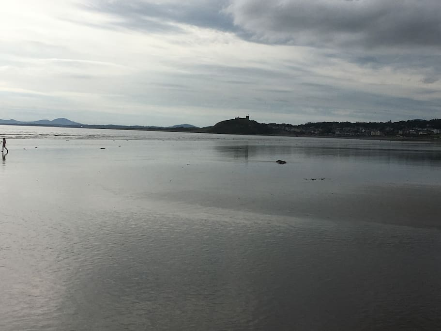 View from Black Rock sands