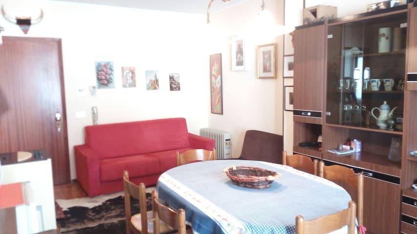 Bel appartamento  trilocale nel centro paese