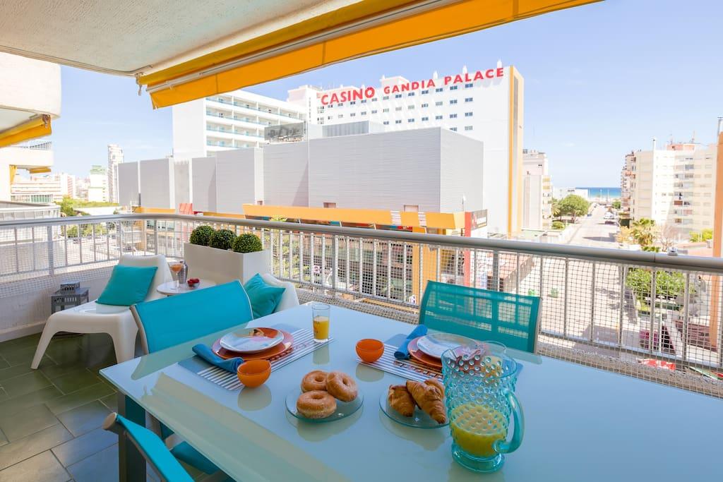 Apartamento vista mar playa gandia apartments for rent in grau i platja comunidad valenciana - Apartamentos en gandia playa ...