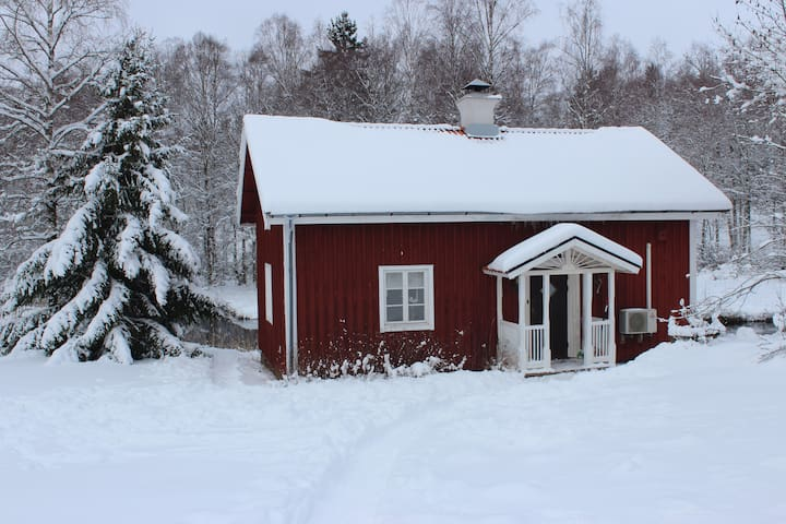 Nice cottage near ski resort Mullsjö Alpin
