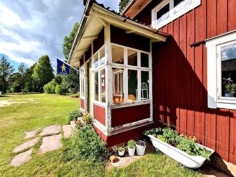 γοητευτικό σπίτι στο άνετο χωριό μεταξύ Mora & Sälen