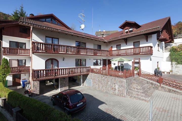 Accogliente casa vacanze vicino ai boschi a Saldenburg