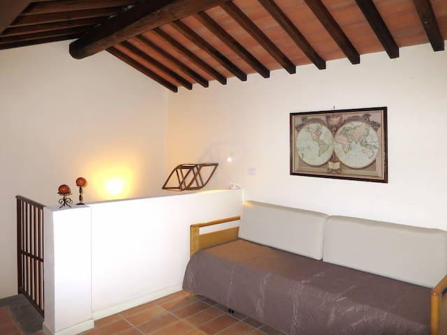 """Il porcino"" cottage - near San Gimignano - Gambassi Terme - Rumah"