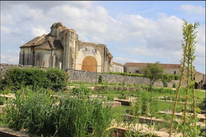 Jardin médiéval de l'Abbaye de Trizay