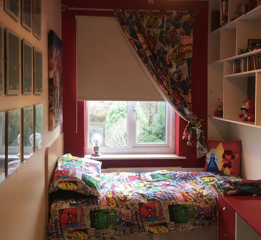A snug room, perfect for a short stay.