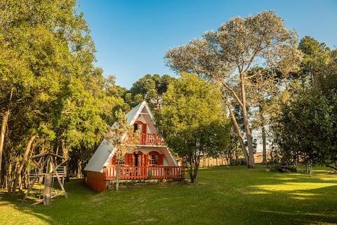 Cabana Singular - Aconchego em meio à natureza.