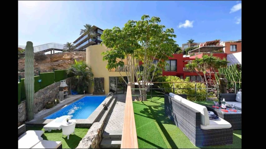 Villa Las Terrazas 17 Exclusive Chill Out and Pool