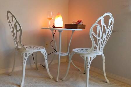 White Themed Luxury Room in Danville / San Ramon