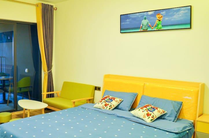 京东服务+度假民宿  全海景大床房