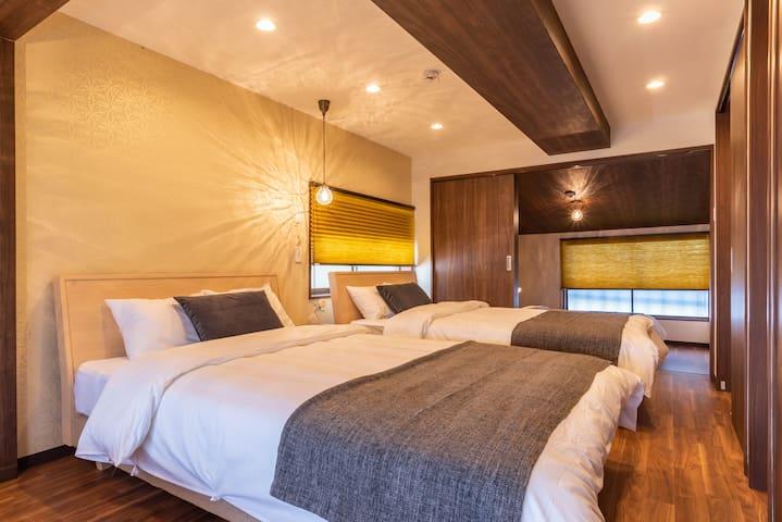 Designer house/3 mins to Namba/Bijou suites Tohei