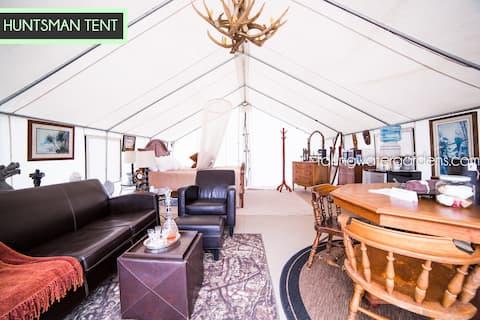 Glamp Monroe - Sleeps 2 - Huntsman Tent