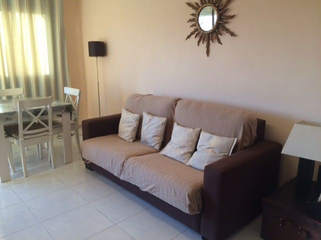 Cozy apartment with pool,next to the beach WI-FI - Torredembarra - Apartament