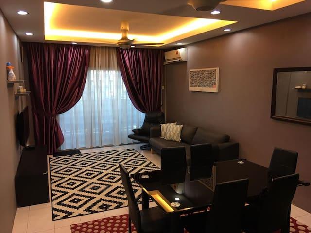 Indahria Apartment Batu 3, seksyen 22, Shah alam