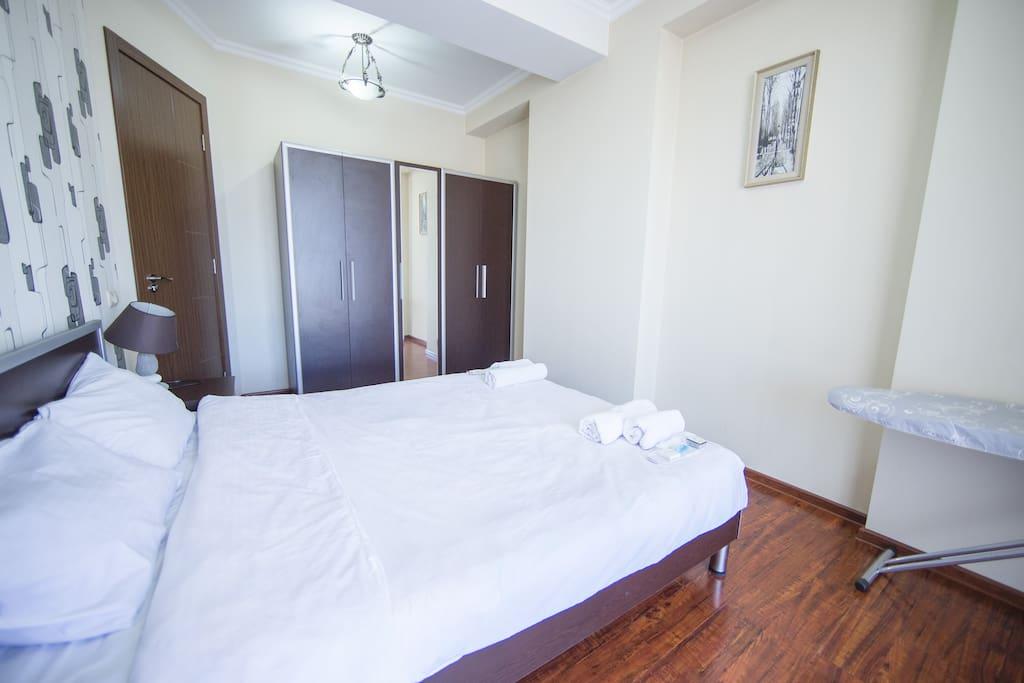 Спальная комната,Кровать,Детали номера.