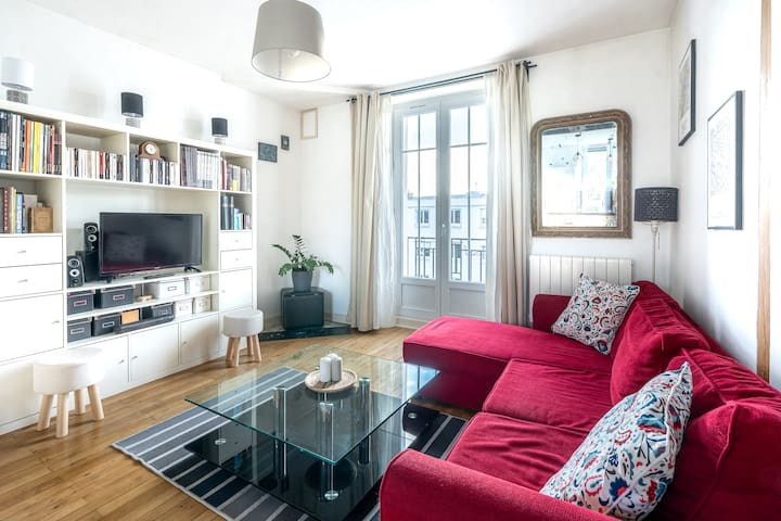 Appartement quartier St Mihiel, 48m2 avec garage
