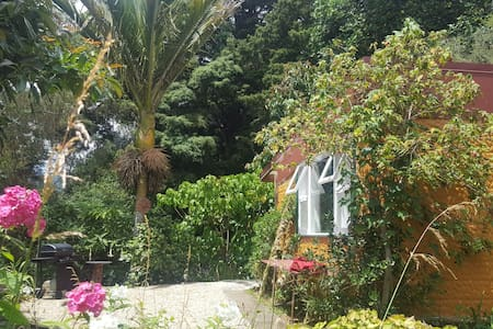 Karaka chalet- bird and stream song in Golden Bay