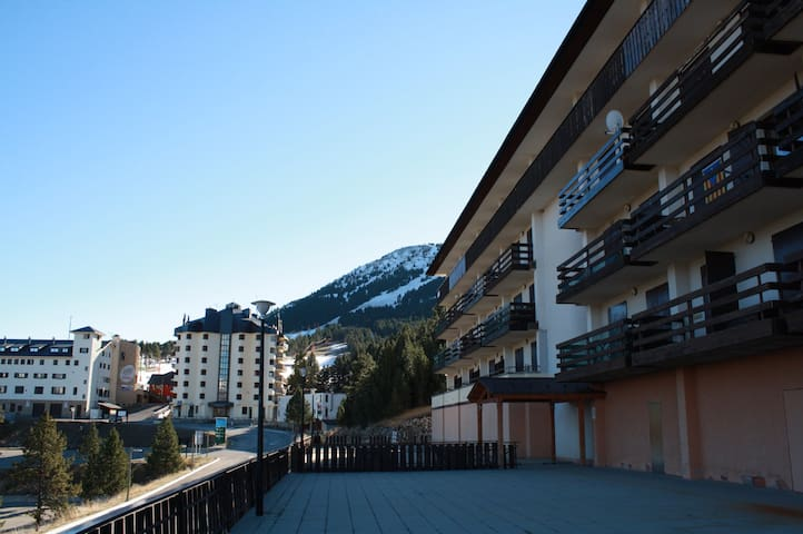 Port del Compte. Ski and trekking. - Port del Comte - Flat