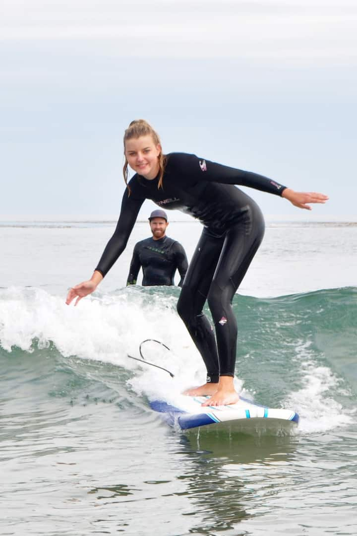 Experienced coaches who actually surf :)