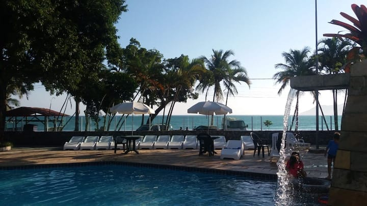 Flat em condomínio Beira Mar em Paúba