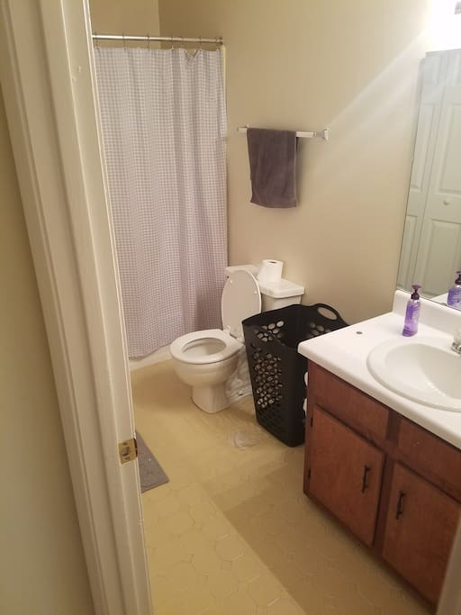 Bathroom 2 (Has Washer and Dryer)