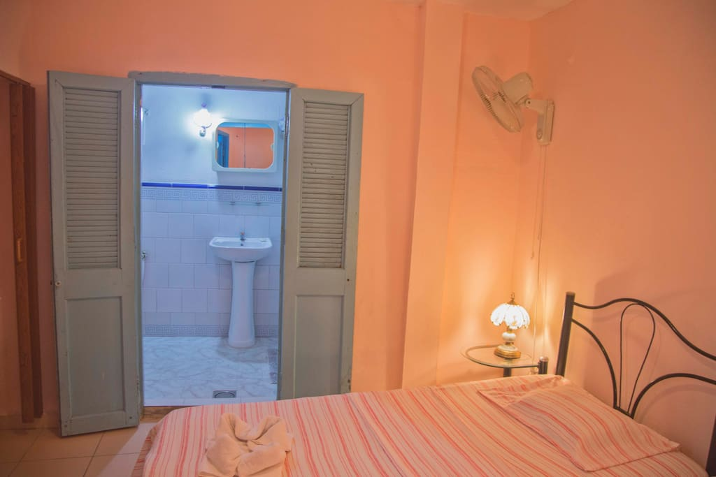 Habitacion de dos camas