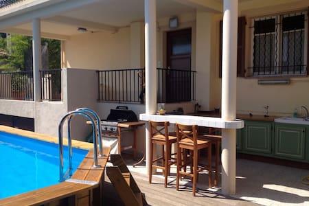 Appartement 3 pièces, rez de villa, proche centre. - St-Laurent-du-Var - Apartment