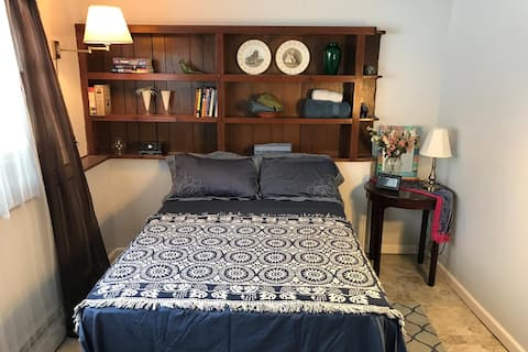 Quiet and charming bedroom near Uconn (Blue Room)
