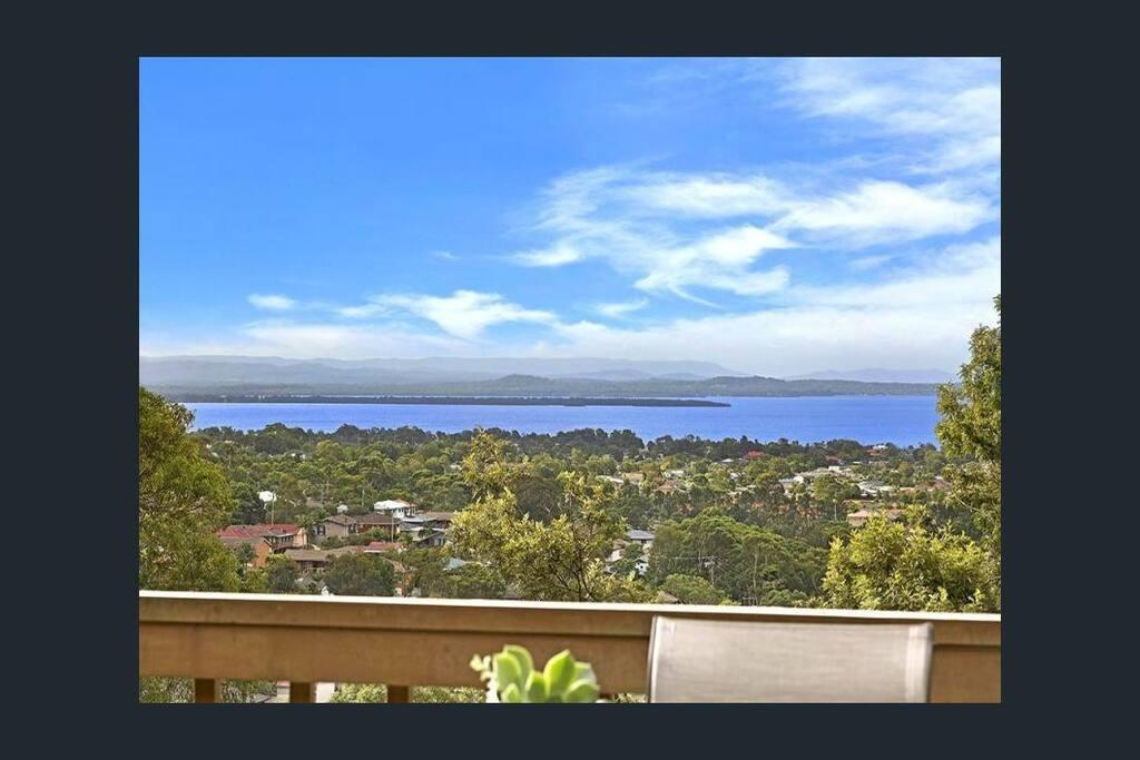 Lake & ocean views