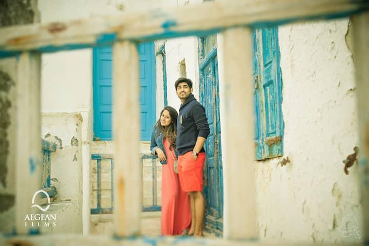 Private photo shoot Mykonos
