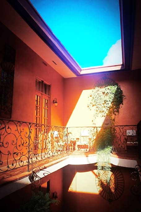Light and sun in balconies
