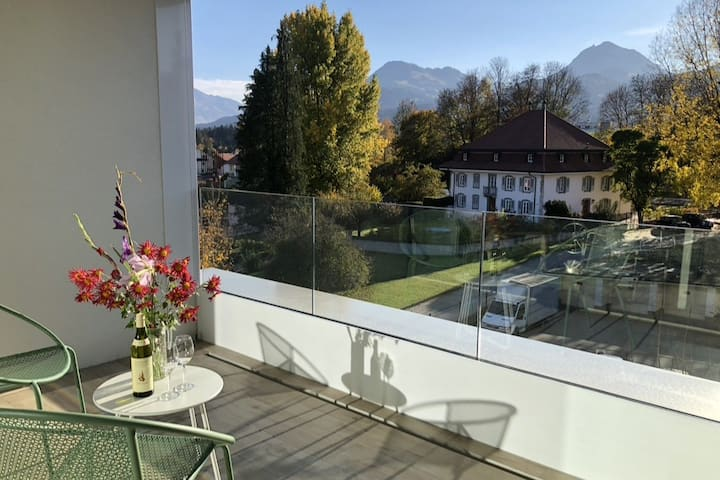 Luxury apartment in the heart of Gruyere Region