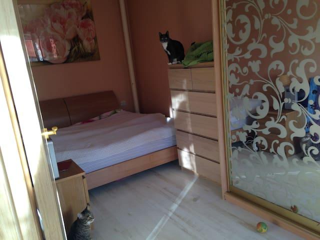 2ух комнатная кв-ра на берегу реки в черте парка - Shchelkovo - Apartamento