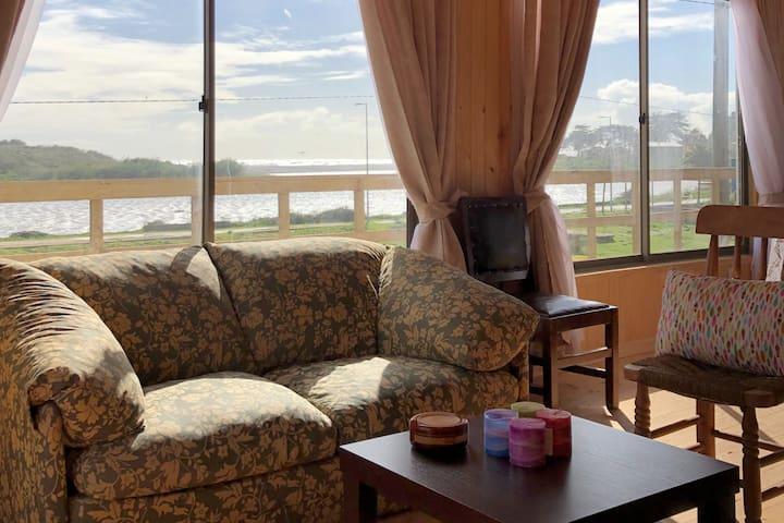 Linda casa para el descanso con hermosa vista