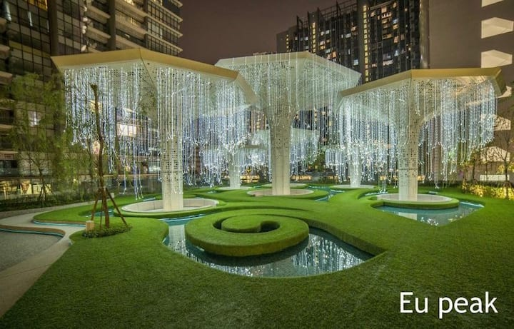 Arte KLCC Master Suites 4Bedrooms Garden residence