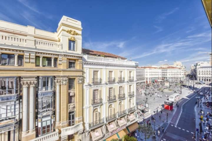APARTMENT AT PUERTA DEL SOL, 1HAB - 4PAX