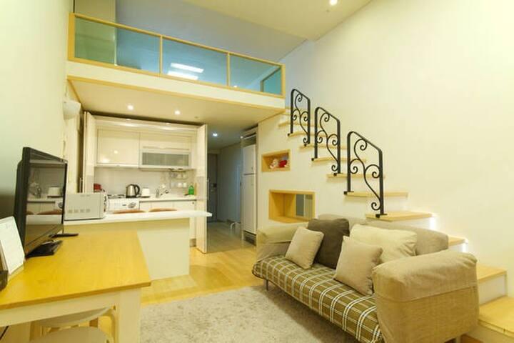 수내역 3분 Cozy House(6인 가능)+free wifi